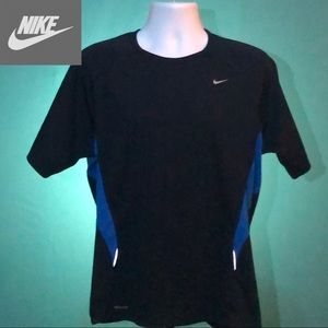 Nike Men's Fit Dry Jersey Shirt Large Dark Blue
